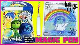 Disney Pixar Inside Out Imagine Ink - Rainbow Color Art Magic Pen Swirl