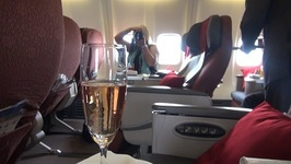 Garuda Business Class Eat Drink  Be Kerry Food Review