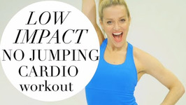 Low Impact No Jumping Cardio Workout