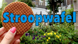 Stroopwafel - Delicious Dutch Syrup Waffle In Amsterdam