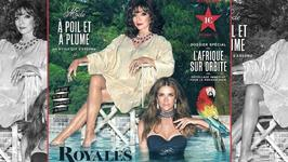 Elizabeth Hurley Teams Up With Joan Collins For Tribute