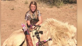 Texas Cheerleader Causes Internet Outrage With Hunting Photos