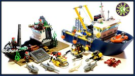 Lego Deep Sea Exploration Vessel Review  ALEXSPLANET