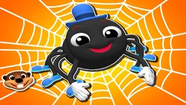 Itsy Bitsy Spider - Kid's Learn Nursery Rhymes - Teach Songs for Children