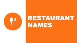 Restaurant names - the best names for your company