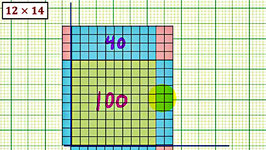 Ex 1: Multiplying Whole Numbers with Base 10 Blocks Using Area (2 digit)