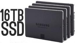 Samsung 16 Terabyte SSD - Worlds Largest!