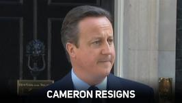 David Cameron resigns after shocking referendum result