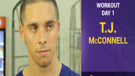 Lakers Pre-Draft Workouts - T.J. McConnell