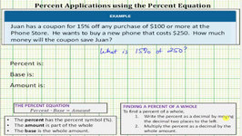 Percent App: Find The Amount Of Savings From A Discount