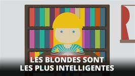 Infographie : la fin du mythe de la blonde idiote !