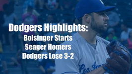 Dodgers Highlights Corey Seager Homers, but Dodgers Fall 3-2 to Diamondbacks