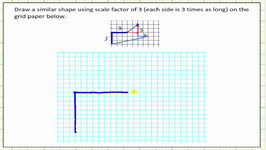 Sketch A Similar Polygon Using A Scale Factor Of 3