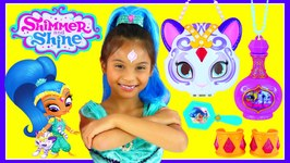 SHIMMER And SHINE Dress Up Makeover IRL Wish Come True Shine Purse Set Nahal Nickelodeon Tv Show Genie