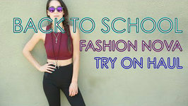Fashion Nova Haul Back to School Try On Haul