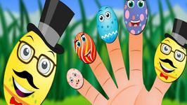 Humpty Dumpty Finger Family Nursery Rhymes For Children