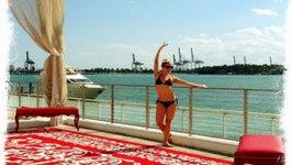 Miami Beach Bikini Workout - Best Leg, Thigh, Ab, Arms and Cardio Workout