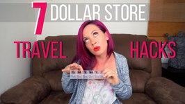 7 Dollar Store Travel Hacks