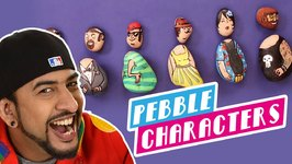 Mad Stuff With Rob - How To Make Pebble Characters- DIY Craft