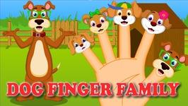 The Finger Family Dog Family Nursery Rhyme  Dog Finger Family Songs  Animal Finger Family Rhymes