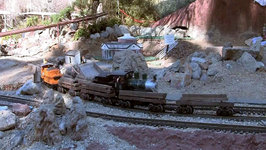 Huge Model Train Display at the Living Desert