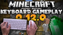 Keyboard Support in 0.12.0 - Gameplay Showcase - Update Review - Minecraft PE -Pocket Edition