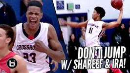 Shareef O'Neal And Ira Lee Abuse The Rim All Game Long Shareef Dunks On Defender