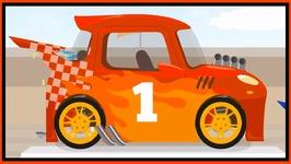 Doc McWheelie Racing Car Drag Racer (Children's Car Cartoons)
