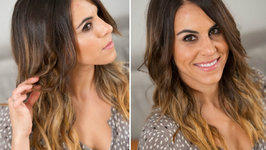 How to Curl Hair Using a Flat Iron: Beachy Waves
