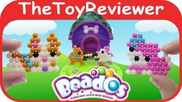 Beados Theme Pack - Puppies At Play Refill Aqua Beads Toy Unboxing Review