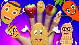Finger Family Rhymes for Children Fruits and Many More  Finger Family Nursery Rhymes