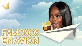 Naomi Campbell y otros famosos que la liaron en un avión