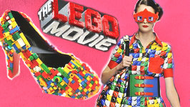 LEGO Movie Inspired Fashion - Nail Art, DIY, and Color Blocking