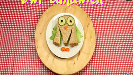 Fun With Sandwiches: The Owl