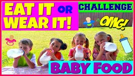Baby Food Challenge Eat It Or Wear It With Magic Box Toys Collector Collaboration