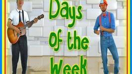 Days Of The Week Song - Nursery Rhyme