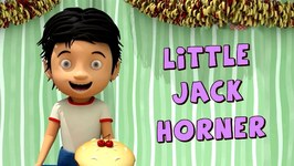 Little Jack Horner - 3D Nursery Rhymes and Songs