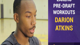 Lakers Pre-Draft Workouts - Darion Atkins