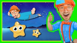 Twinkle Twinkle Little Star by Blippi - Bedtime Songs for Kids