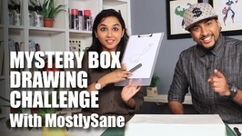 Mad Stuff With Rob - Mystery Box Drawing Challenge with MostlySane