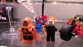 LEGO Spider-Man : Ghost Rider Team Up NYTF Teaser : LEGO 76059