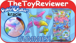 Kracie Popin Cookin  DIY Sea Animals Gummy Kit Unboxing Toy Review by TheToyReviewer