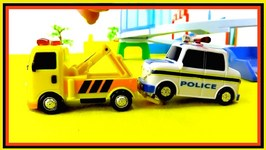 Toy Cars Helpers  Rescue Demo (1) Fire Truck - Ambulance - Police Car -Tow Truck