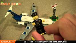 LEGO 3181 - LEGO Passenger Plane City Review