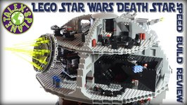 Lego Star Wars Death Star Stop Motion Review  Alexsplanet
