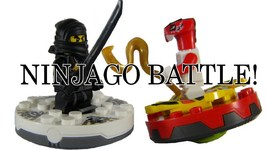 LEGO NINJAGO Battle! Fang Suei vs. Cole