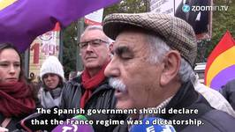 Spain Marches For Justice 40 Years After Franco's Deat