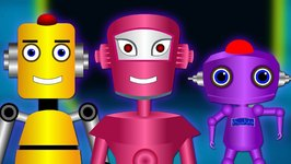 Robot Finger Family Collection and Many More  Finger Family Songs  Finger Family Collection
