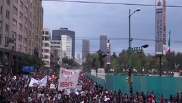 Mass Marches in Mexico over Alleged Student Massacre