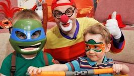 Car Clown Face Painting Game - Lucky Boy VsTeenage Mutant Ninja Turtles